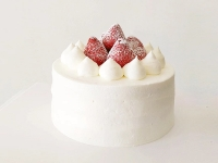 雪域草莓/Snow Area Strawberry cake