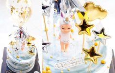 独角兽娃娃/Unicorn doll cake
